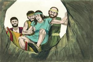 Genesis 37:12-36; เพลง, Burdens Are Lifted at Calvary