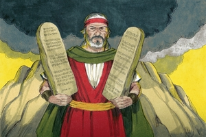 Ekesodo Chapta 20:1-17, !'Om ki ka ku !qono ǀxate Nǂom ki [Exodus 20:10-17, The Ten Commandments]