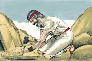 Exodus 34:1-2, 4-10, 28