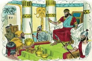 1 Kings 4:20-21, 25