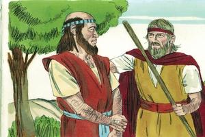 1 Kings 19:19-21