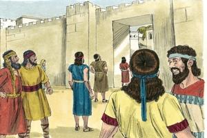 Nehemiah 8:1-3, 5-6, 8-10