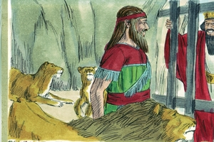 Ca an corom mao tocwa Daniel Pain manacon oro leão. - Daniel 6: 1- 27 [Daniel in the Den of Lions - Daniel 6:1-27]