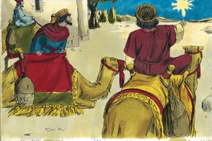 The Wise Men Visit Jesus, Matthew 2:1-12