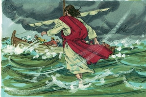Jesus Walks on the Water, Matthew 14:22-36