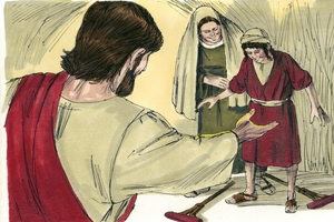 Jesus Feeds 4,000 Men Matthew 15:29, 30, 32-39