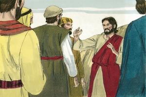 Yu mas autim bilip ♦ Matyu 16:16 [You must confess your belief ▪ Matthew 16:16]
