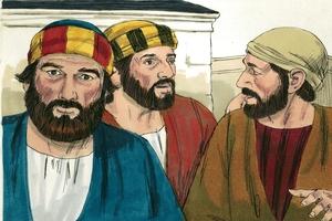 Mark 10:31-34