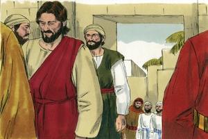Mark 12:37b-40