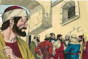 Mark 14:10-11