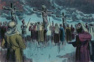 Mark 15:33-41