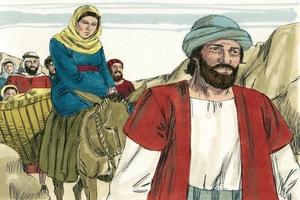 The birth of Jesus (Luke 2:1-11)
