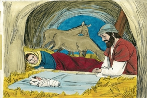 Luke 2:1-7 Birth of Jesus
