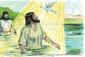 Iroka 3:21-22 Yowao Yeso sokonawai [Luke 3:21-22 The baptism of Jesus]