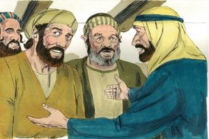 Iroka 5:17-26 Maki bari yokona towe owarai, bari ene yaka kabi hine owarai, Yeso [Luke 5:17-26 Jesus heals a paralytic]