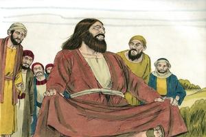 Autim tok long samting ♦ Luk 8:39 [Say something ▪ Luke 8:39]