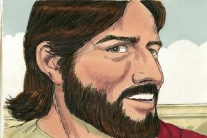 Jesus teaches on prayer Luke 11:1-13