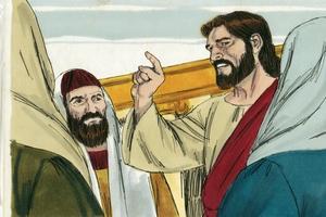 Luke 20:1-8