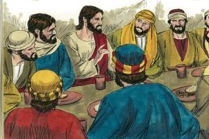 Duu/uah oo N/uu ni ka, Luka 22: 14-23 [The Institution of the Last Supper, Luke 22:14-23]