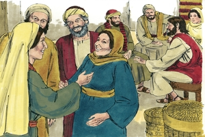//kxoa o maq gausi kah, Johane 16:5-15 [The Work of the Holy Spirit, John 16:5-15]