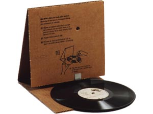 "The <a href=""/topic/cardtalk"">CardTalk</a> cardboard record player"