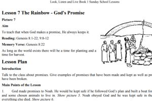 Sunday School Lesson Resources and Teaching Materials