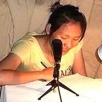 Nan, speaking Karen Sgaw on a new recording