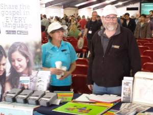 GRN Stand at Katoomba Easter Convention