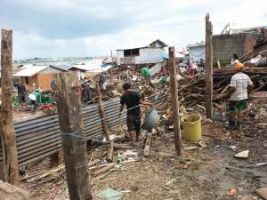 The Cleanup after Typhoon Haiyan
