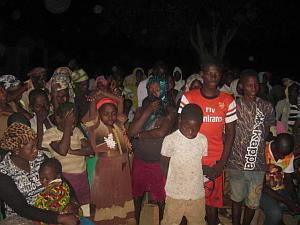 People Accept Christ in West African Outreach