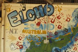 Elcho Island - where Noel and Simon recorded Wangurri and Dhaŋu'mi languages