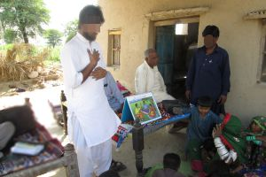 GRN teams go out to visit villages and bring news of salvation