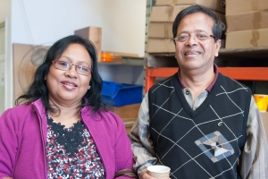 David and Namita Halder