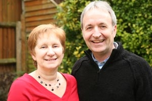 Kenny and Joan....Leading the work in the UK