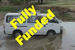 Vehicle for GRN Nigeria - now fully funded