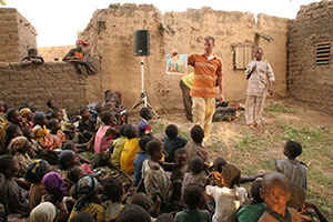 Burkina Faso: they remember the stories!