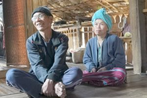 <p>The villagers called for the Motorbike Gospel Team to return for a visit