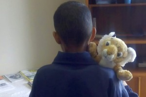 Tumi met Ricky - a special friendship is making difference and bringing hope, joy and comfort