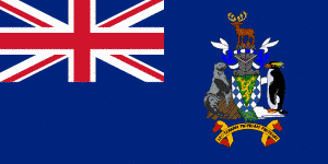 South Georgia and South Sandwich Islands flag