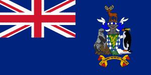 South Georgia and South Sandwich Islands flag