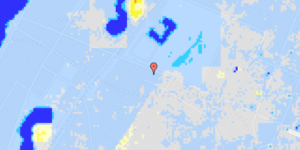 Ekstrem regn på Gothersgade 103A, 4. tv