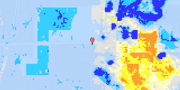 Ekstrem regn på Roskildevej 33B, 2. 301
