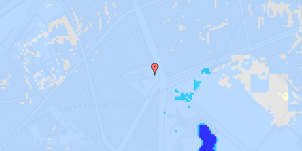 Ekstrem regn på Aldersrogade 4, st. tv