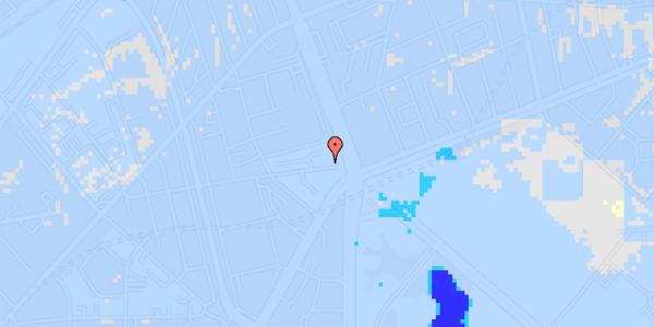 Ekstrem regn på Aldersrogade 4, 4. tv