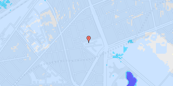 Ekstrem regn på Aldersrogade 6D, kl. tv