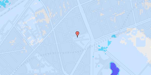 Ekstrem regn på Aldersrogade 6D, st. tv