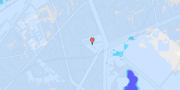 Ekstrem regn på Aldersrogade 9, 2. tv