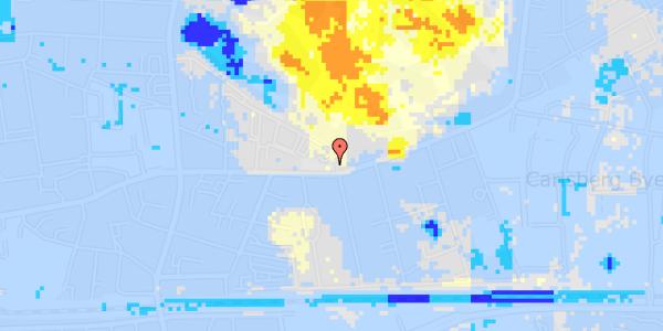 Ekstrem regn på Bag Søndermarken 1A, 1. 1