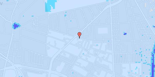 Ekstrem regn på Birkedommervej 37, 2. tv
