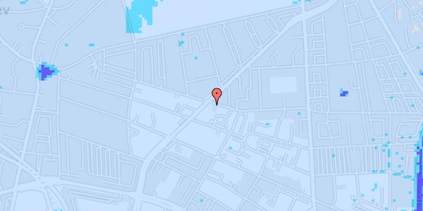 Ekstrem regn på Birkedommervej 39, 2. tv